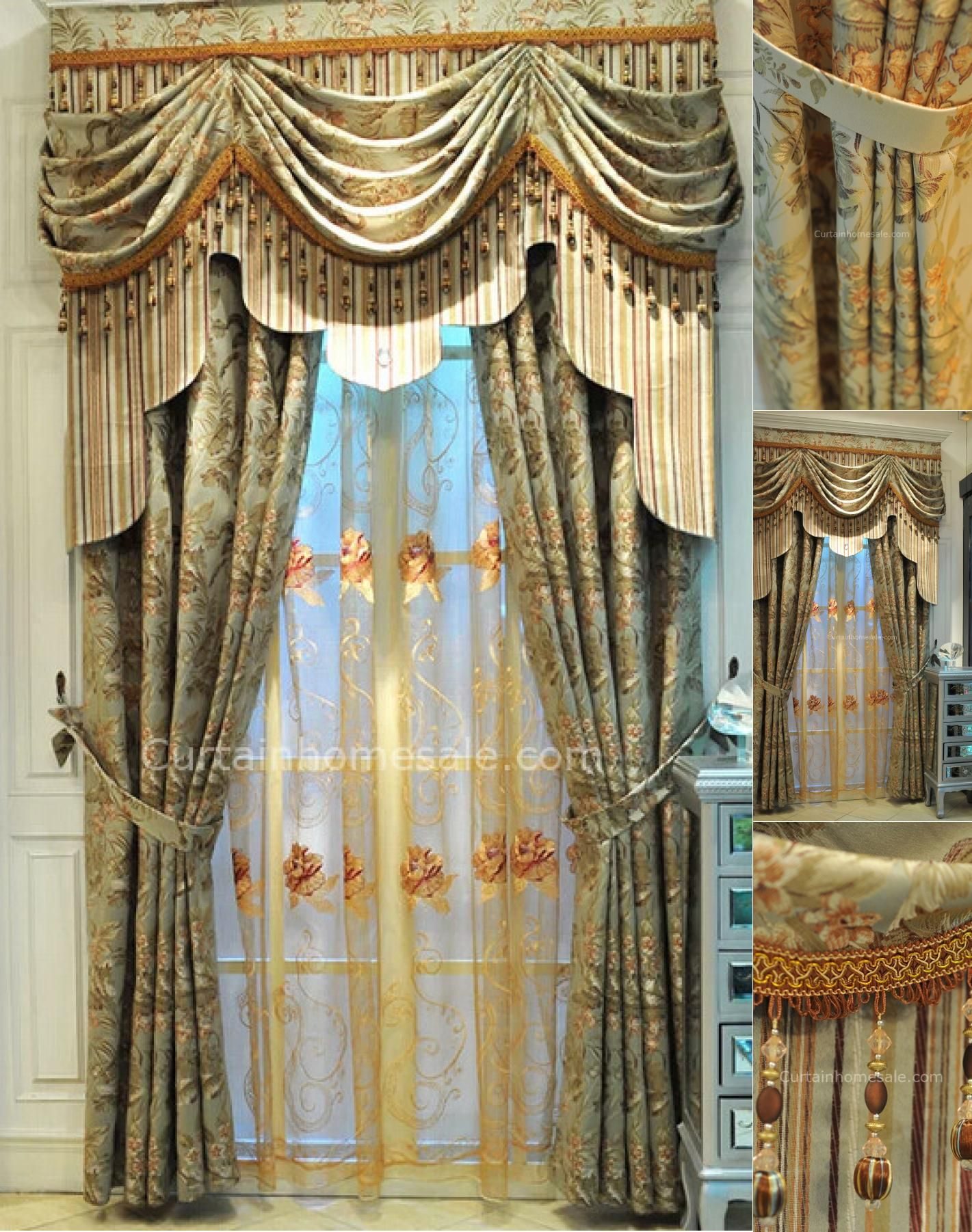 angeles made galaxy valances los valance custom ca in drapery draperies by
