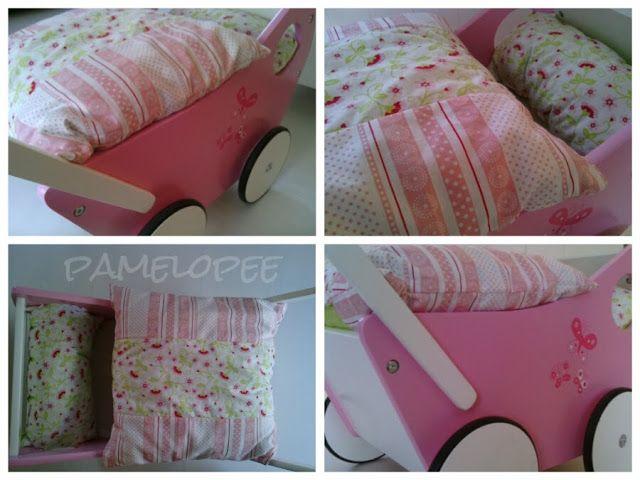 Pamelopee Bettwäsche Für Den Puppenwagen Meine Kreativen Werke