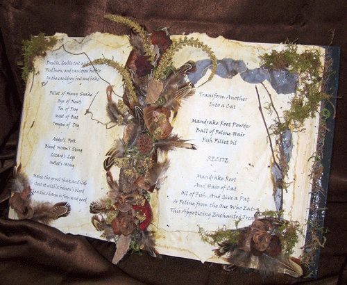 Book Diy Spell Halloween