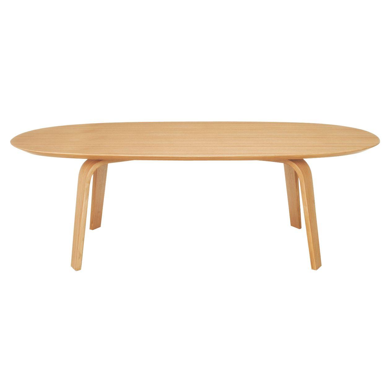 Mesa de café ovalada fresno - Muebles Comedor | MUJI | O · D · D ...