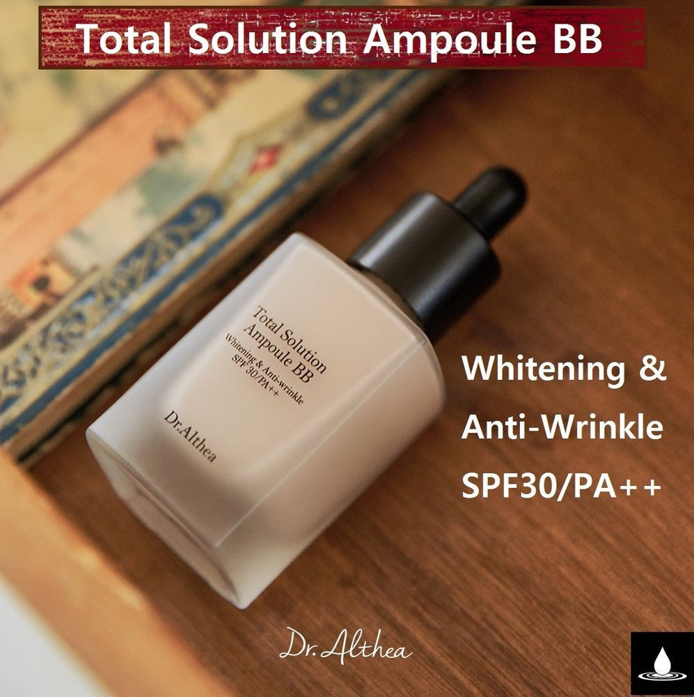 Dralthea Total Solution Ampoule Bb Cream Whitening Anti Wrinkle Moel Rizette 50 Gram Althea Spf30 Pa