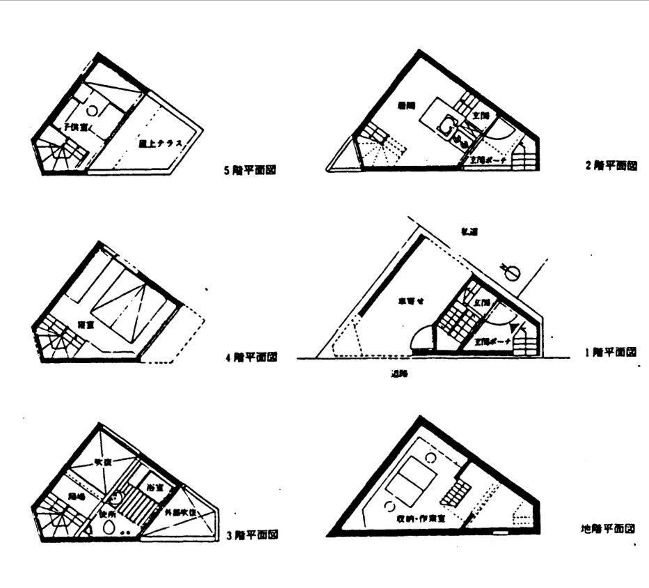 塔の家 平面図 塔の家 平面図 家