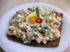 Hüttenkäse - Eier Aufstrich (Rezept mit Bild) von Rocky73 | Chefkoch.de