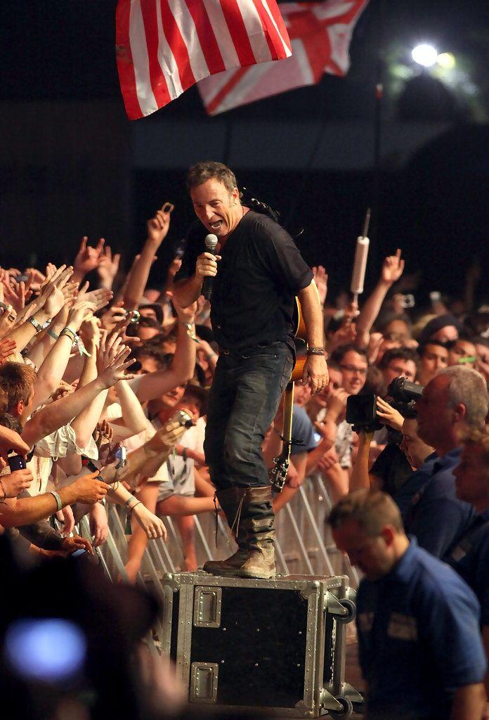 Bruce Springsteen Photos Photos Glastonbury Festival 2009