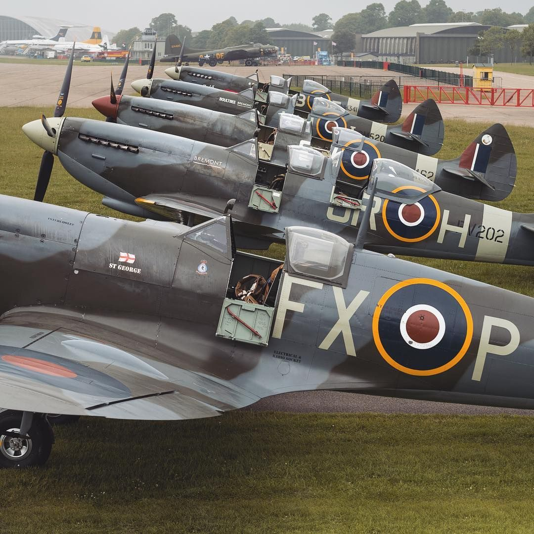 "The Aircraft Restoration Co on Instagram: ""Five Spitfires"