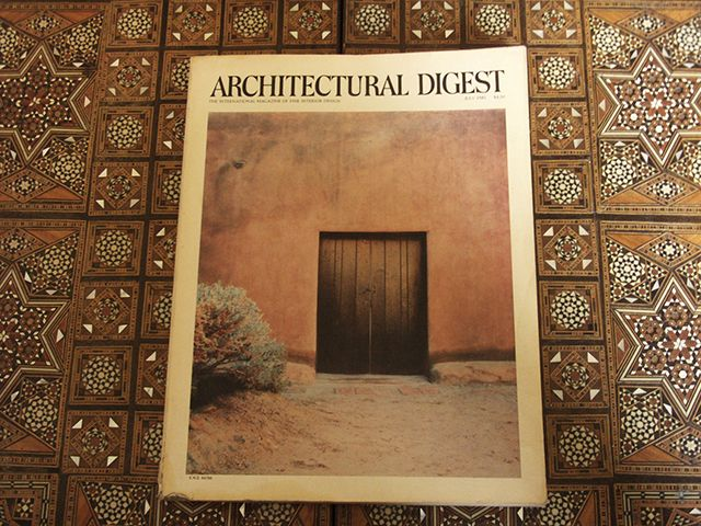 """Architectural Digest started in America and was originally called """"A Pictorial Digest of California's Best Architecture"""" and it was a truly ..."""