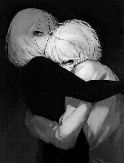 Why do I like this pic so much? Idk, maybe I just like the thought of Mello protecting Near?
