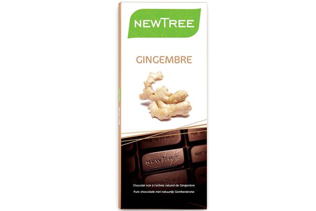 Tableta de Chocolate Negro con Jengibre/Ginger Dark Chocolate Bar