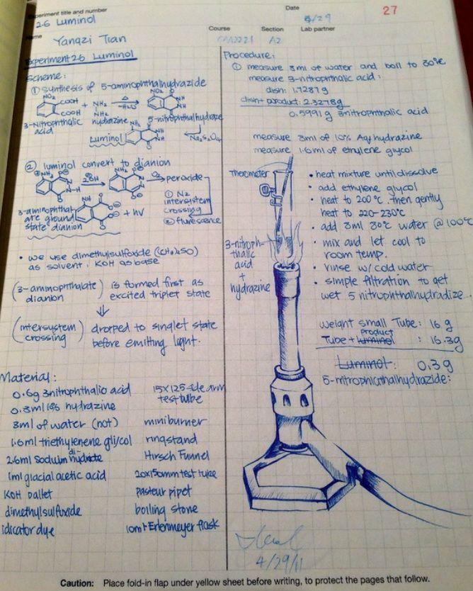 lab journal - Isken kaptanband co