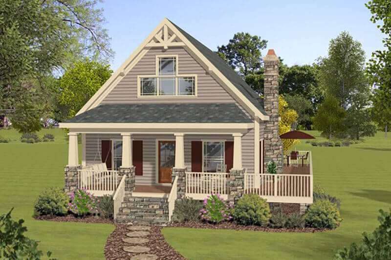 Cottage Style House Plan In 2020 Cottage Style House Plans Cottage Plan Basement House Plans