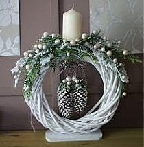 39+ Of The Best DIY Christmas Wreath Ideas #rustikaleweihnachten