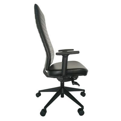 Eurotech Seating Frasso High-Back Desk Chair Arms:
