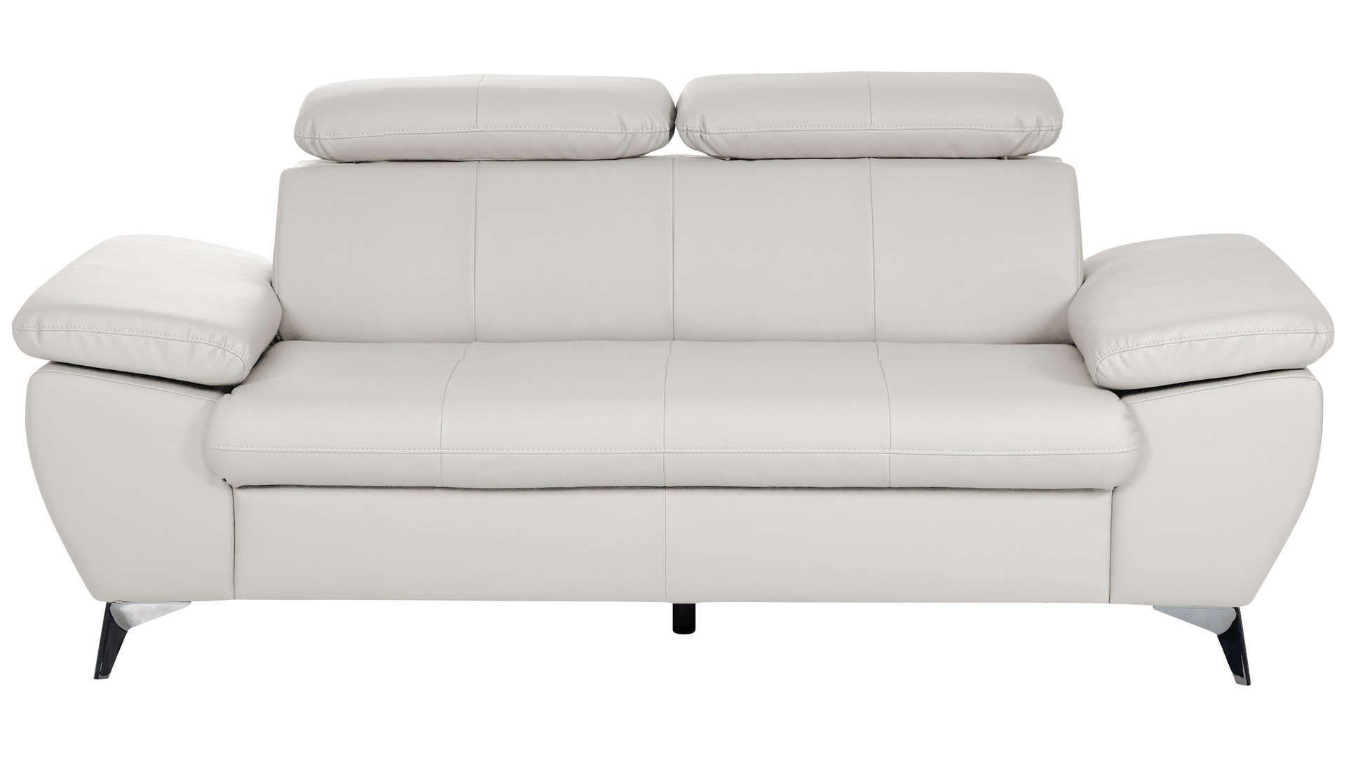 Canape Droit 2 Places Ally 2 Coloris Blanc En Pu Canape Droit Salon Et Blanc