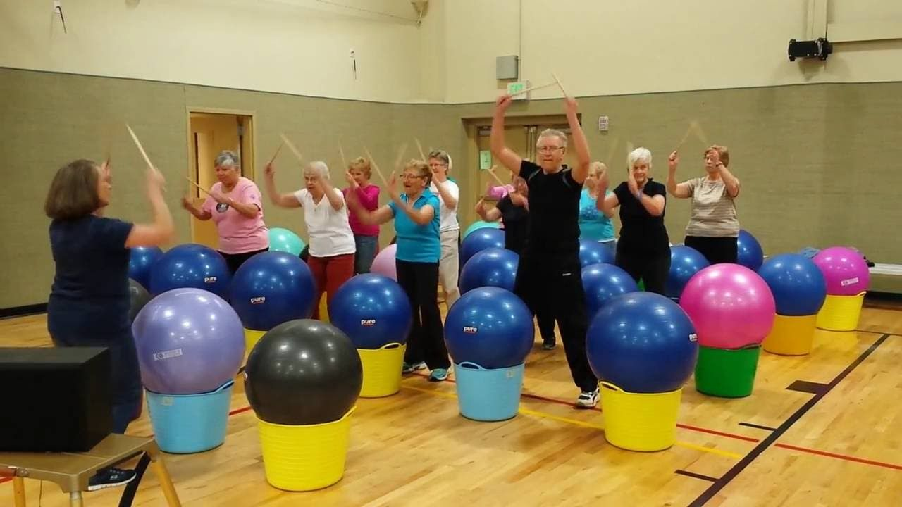 Arbutus Drums Alive Class Boogie Fever Cardio drumming