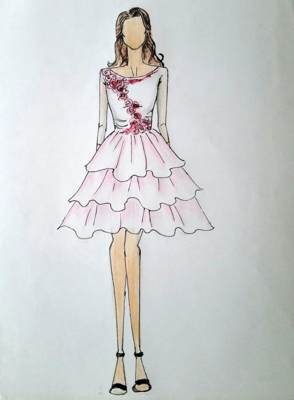 Valentine S Day Contest Fashion Drawing Design Fashion Drawing Fashion Design Sketches Fashion