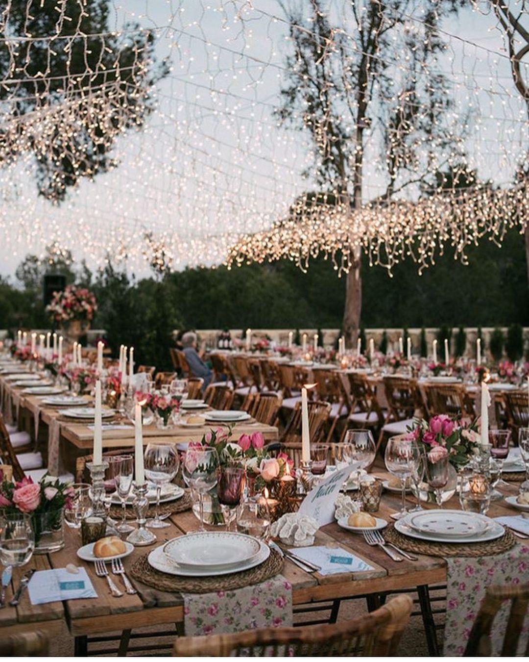 Outdoor Wedding, Romantic Wedding