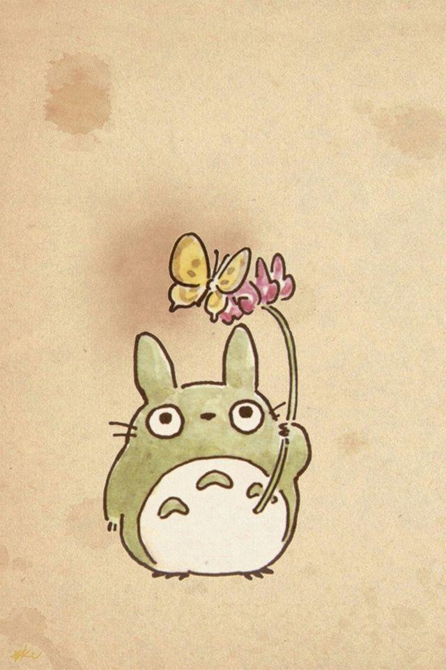 Totoro トトロ ジブリ イラスト かわいい ジブリ