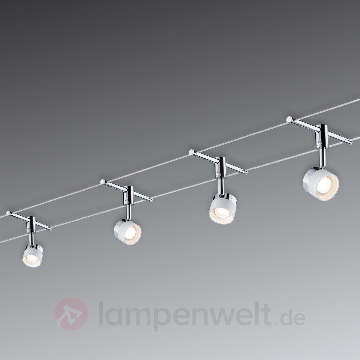 Paulmann Stage LED-Seilsystem Komplett, 4flammig