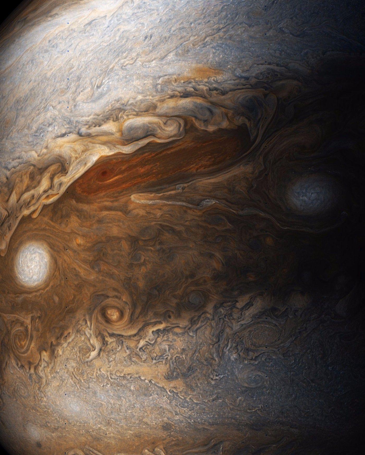 Newly Processed Photos Of Jupiter Taken By NASAs Juno Probe - Nasas juno spacecraft has captured incredible images of jupiters surface