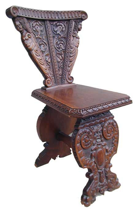 Charmant French Renaissance Furniture | Renaissance Revival Chair Renaissance  Revival Chair Sculpted .