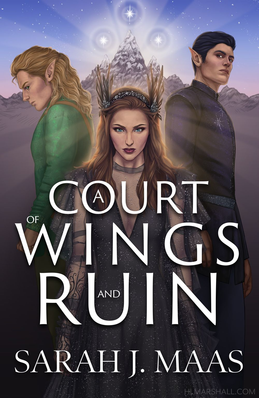 Acowar Book Cover Redesign A Court Of Wings And Ruin Sarah J