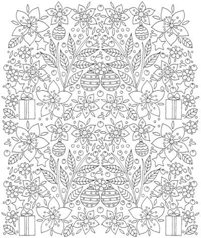 Christmas Coloring: 22+ Festive Coloring Books to Set the Holiday Mood