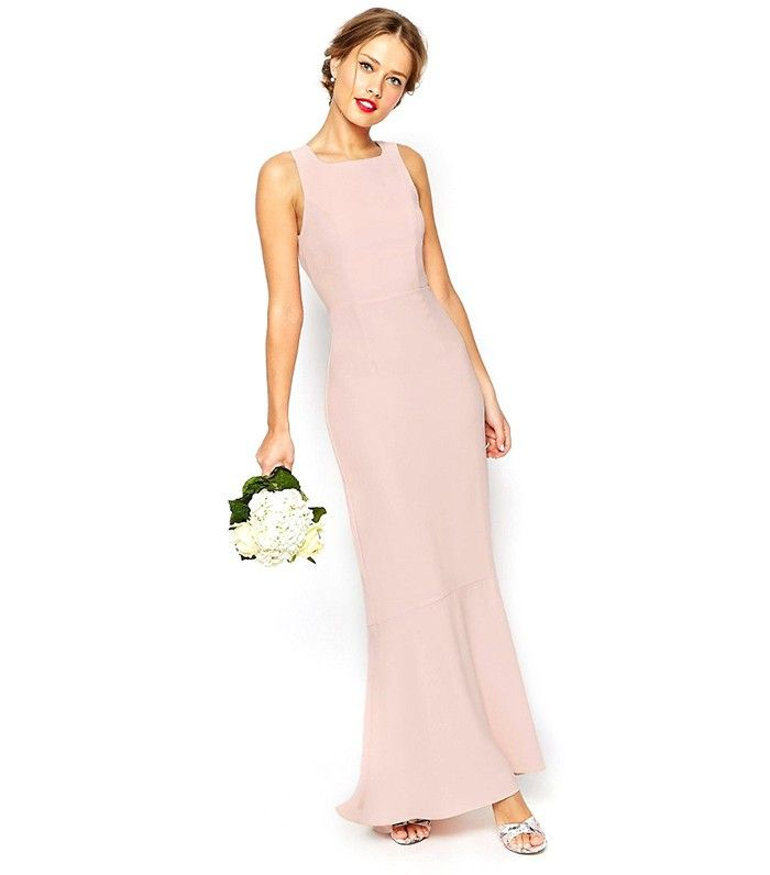 14 Etiquette Rules To Follow When Picking Out Bridesmaid Dresses Blush Bridesmaid Dresses Maxi Dress Prom Pink Bridesmaid Dresses