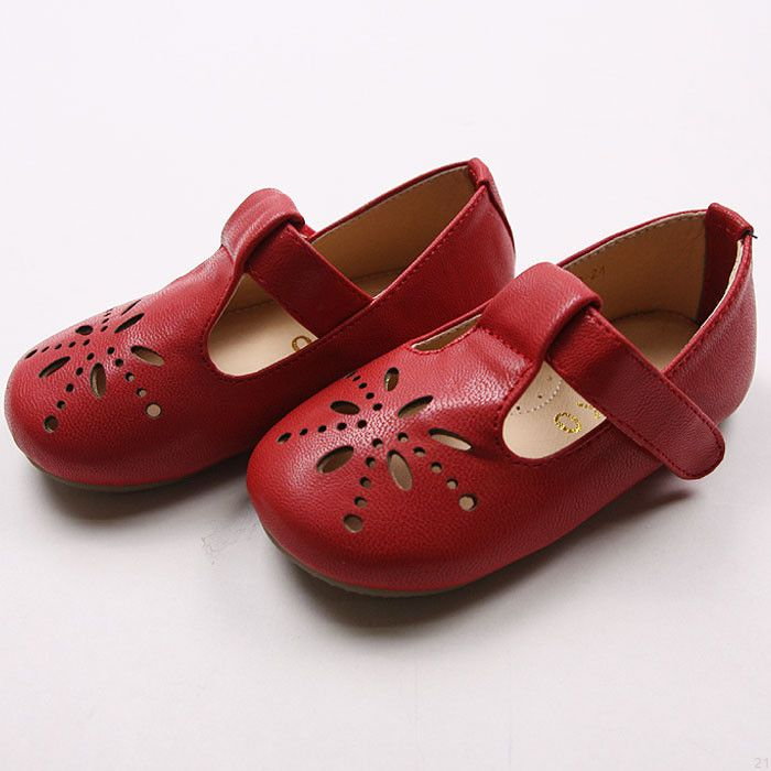 Enfants Mary Peu Chaussures Rouges micyuAf5W0