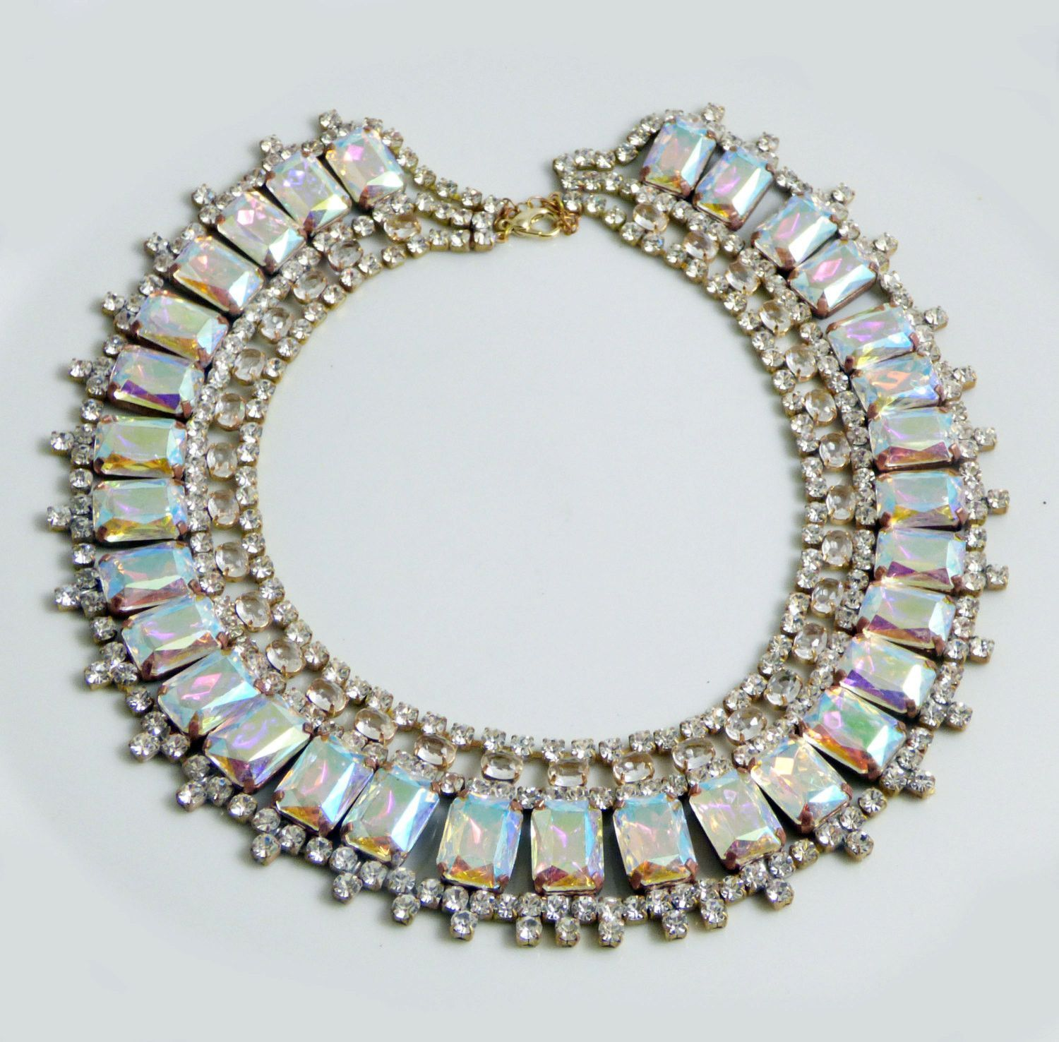 http://vintagelanejewelry.com/collections/shop-all/products/czech-glass-borealis-rhinestone-bib-necklace-husar-d-1