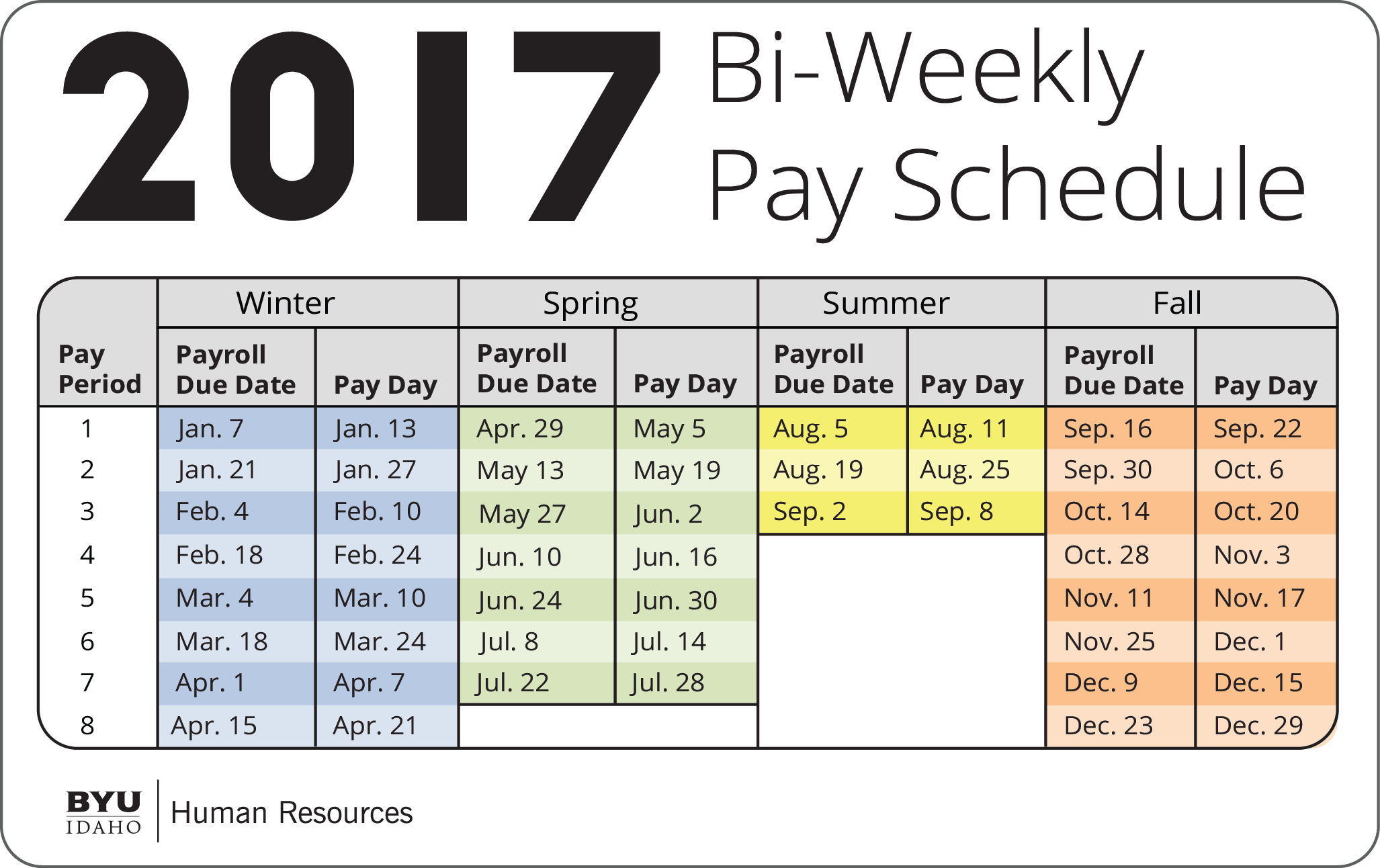 image result for pay period every two weeks calendar in