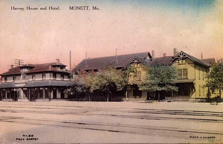 Le On Card Harvey House And Hotel Monett