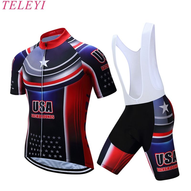 2017 USA Cycling jersey polyester quick-dry pro bike jersey MTB Ropa  Ciclismo team sky Bicycling maillot shirts c5b2586bb