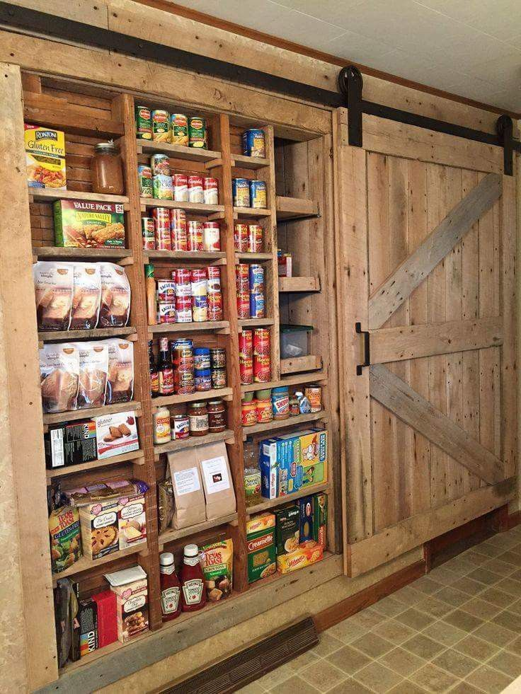 Photo of 43 Farmhouse Inspired Kitchen Storage Ideas