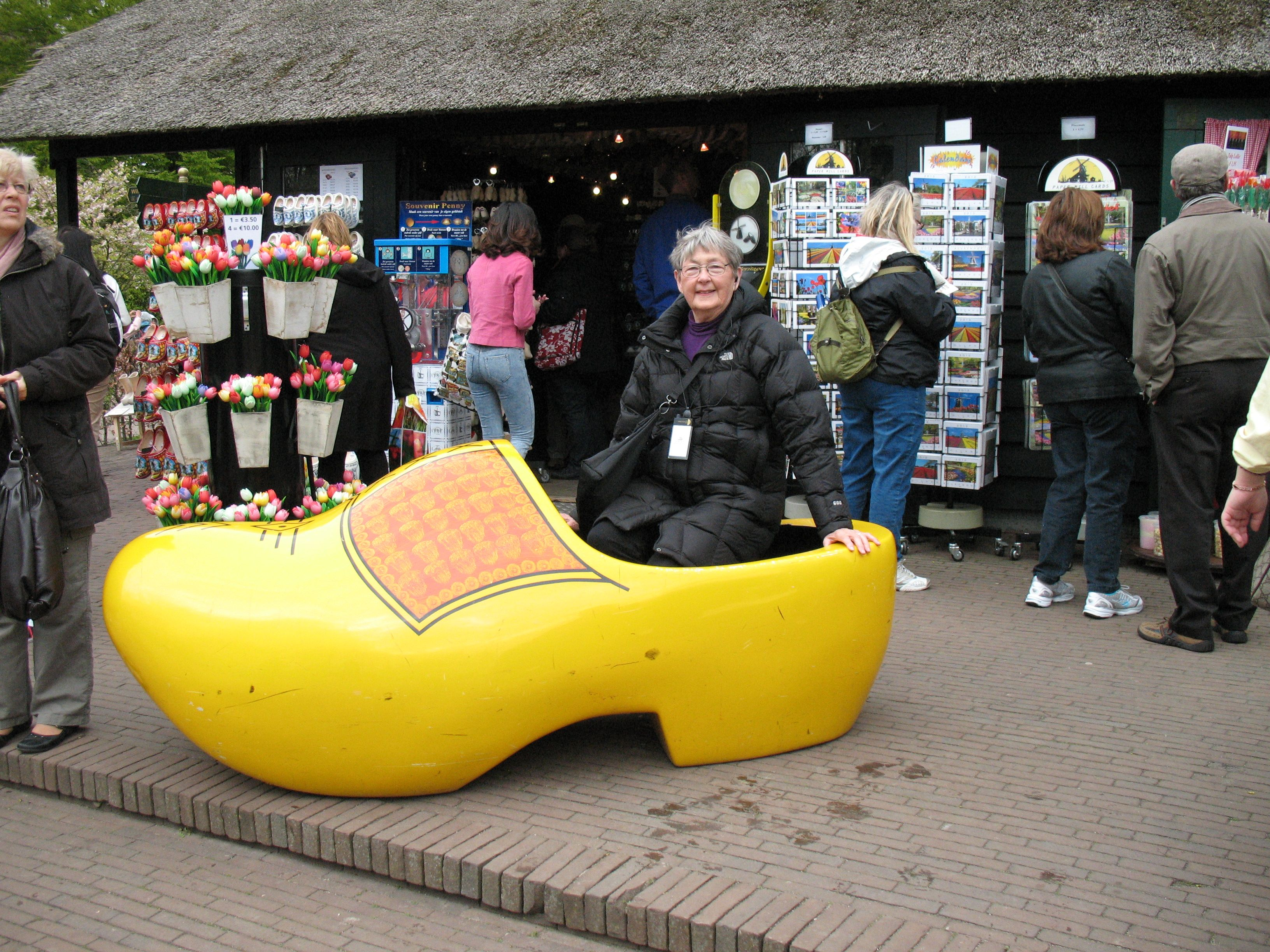 holland i remember having a pair of wooden shoes when i was