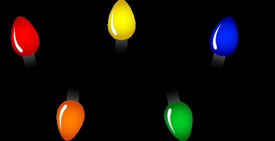 Christmas Tree Lights Christmas Light Clips Christmas Lights Clipart Christmas Clipart Free
