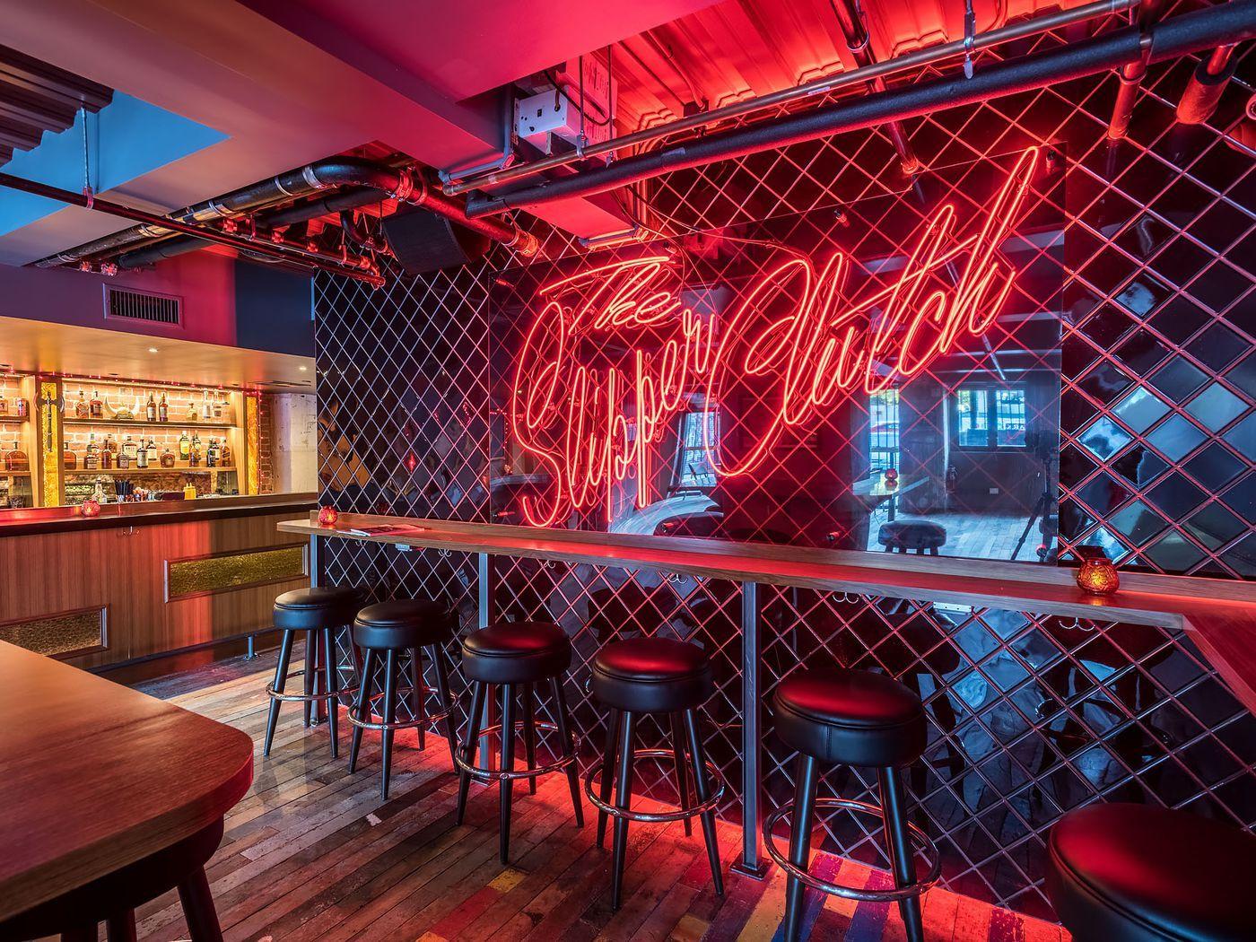 Downtown S Secretive 80s Bar Is The Perfect Throwback Hang Bar Interior Design Bar Design Restaurant Cocktail Bar Design