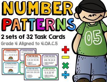 Number Patterns 4.OA.C.5