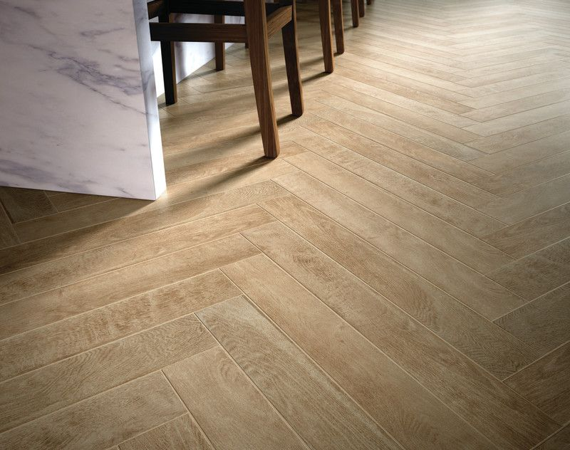 Review Wood look porcelain tile with herringbone pattern 4x28 planks Inspirational - Modern herringbone pattern