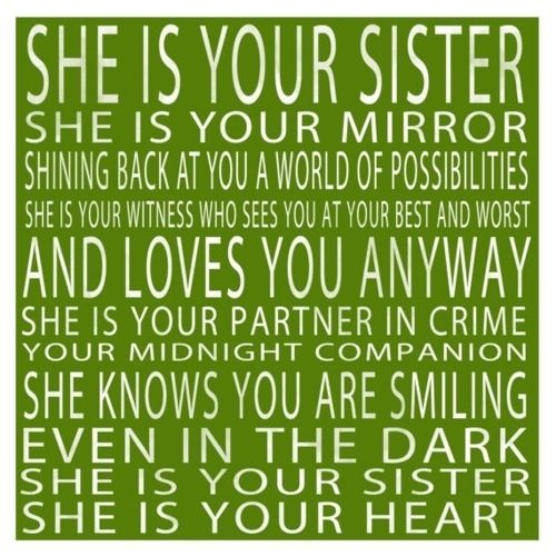 Best 25+ Older Sister Quotes Ideas On Pinterest