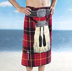 Gift Idea: Kilt Beach Towel