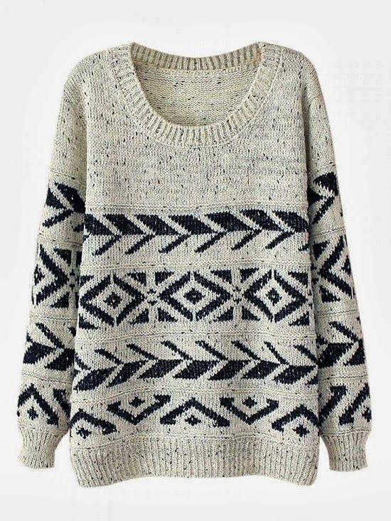 Casual round neck warm sweater | { Stylin } | Pinterest | Warm ...