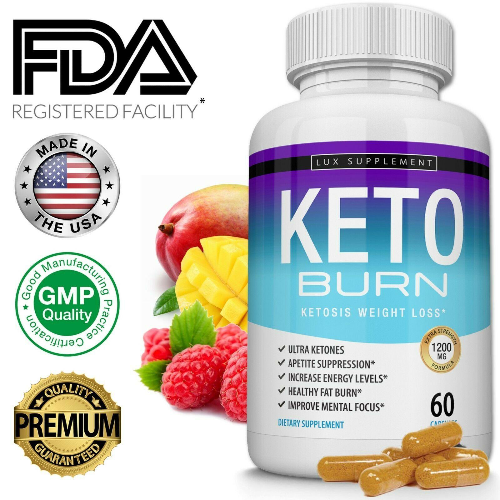Keto Burn Diet Pills 1200 Mg Ketosis Weight Loss Supplements To Fat