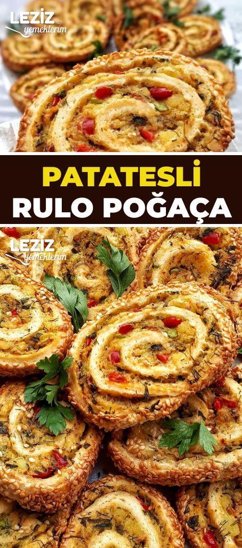 Patatesli Rulo Poğaça