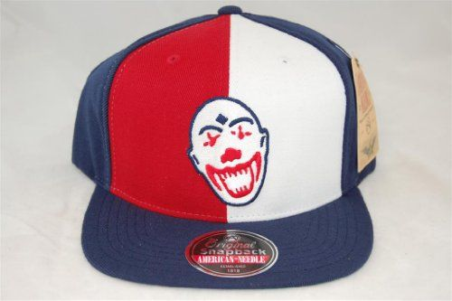Ethiopian Clowns Embroidered Flat-Billed Wool Retro Negro League Snapback  Cap by American Needle 079c6b18e0bb