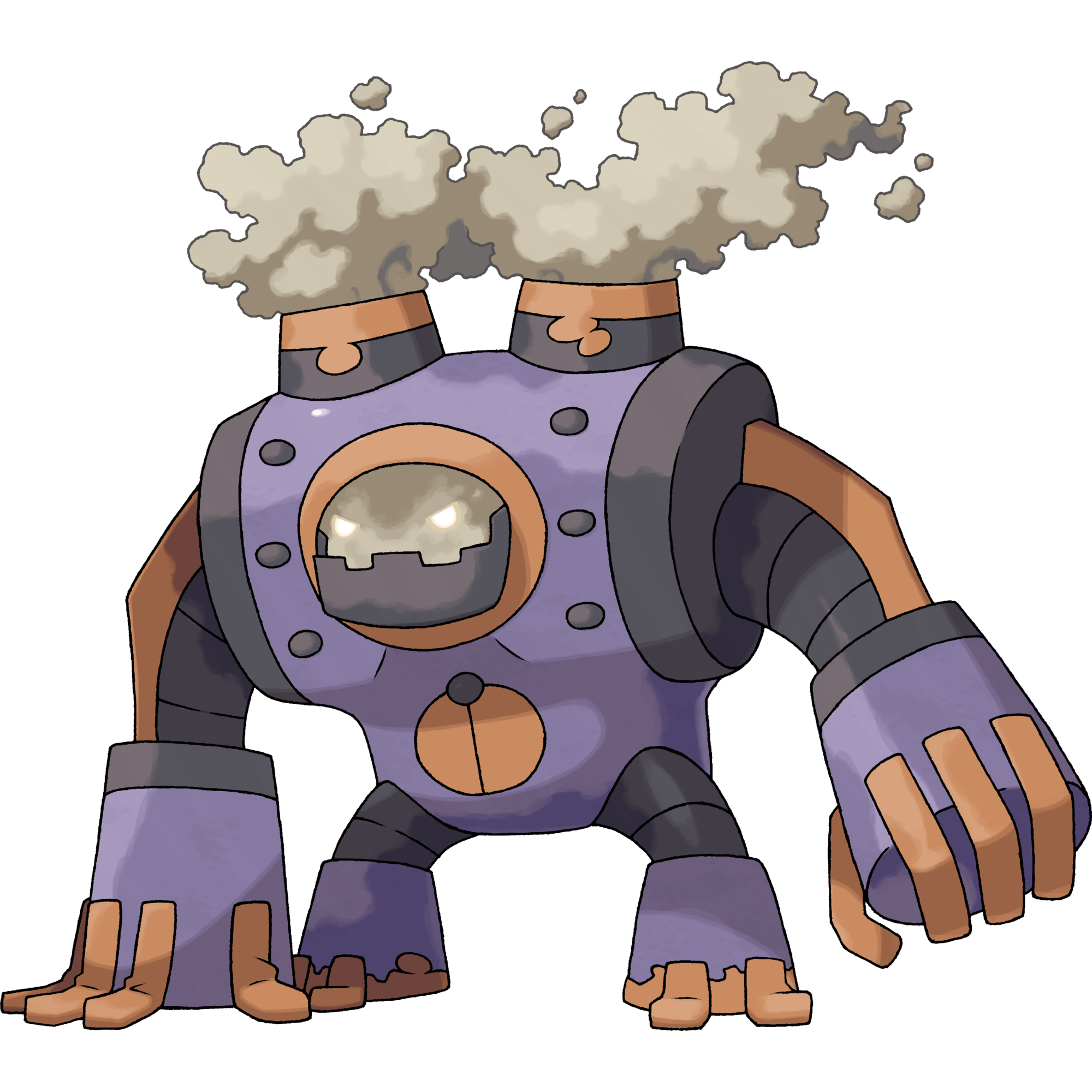 Erion is a dual-type Steel/Poison Legendary Pokémon. It is not known to  evolve into or from any other Pokémon. | Pokemon, Pokemon pokedex, Game  character design