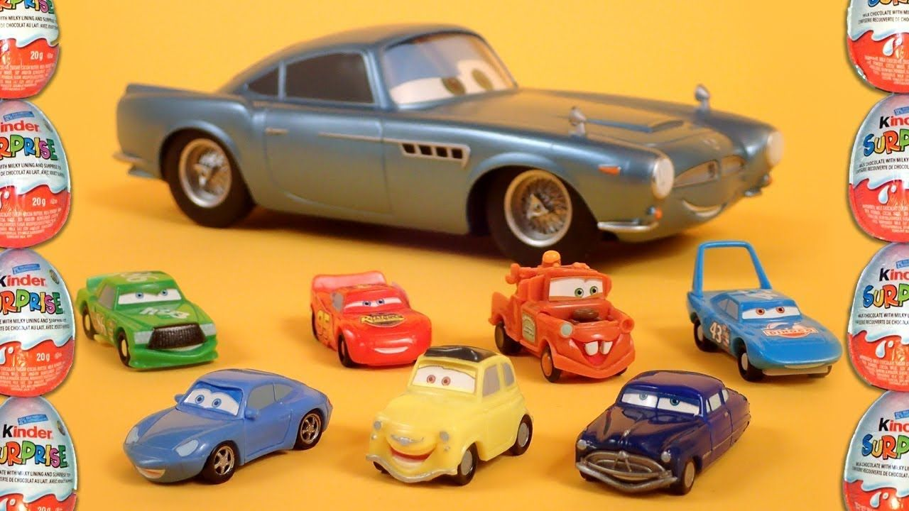 11 Disney Pixar Cars Kinder Surprise Eggs Toys Amazing