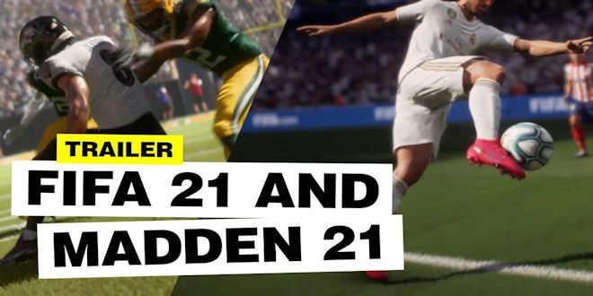 PS5 Xbox Fifa 21 & Madden 21 Video Games – Next Level Gaming – First Look Trailer.  #videogame  #art #games #videogames #fortnite #halo #ps4 #xbox #nintendo #sonic #mario #fifa21 #streetfighter #callofduty #epicheroes #gallery #hd #madden21 #share #repost #ps5 #xbox #trailer #easports #ea