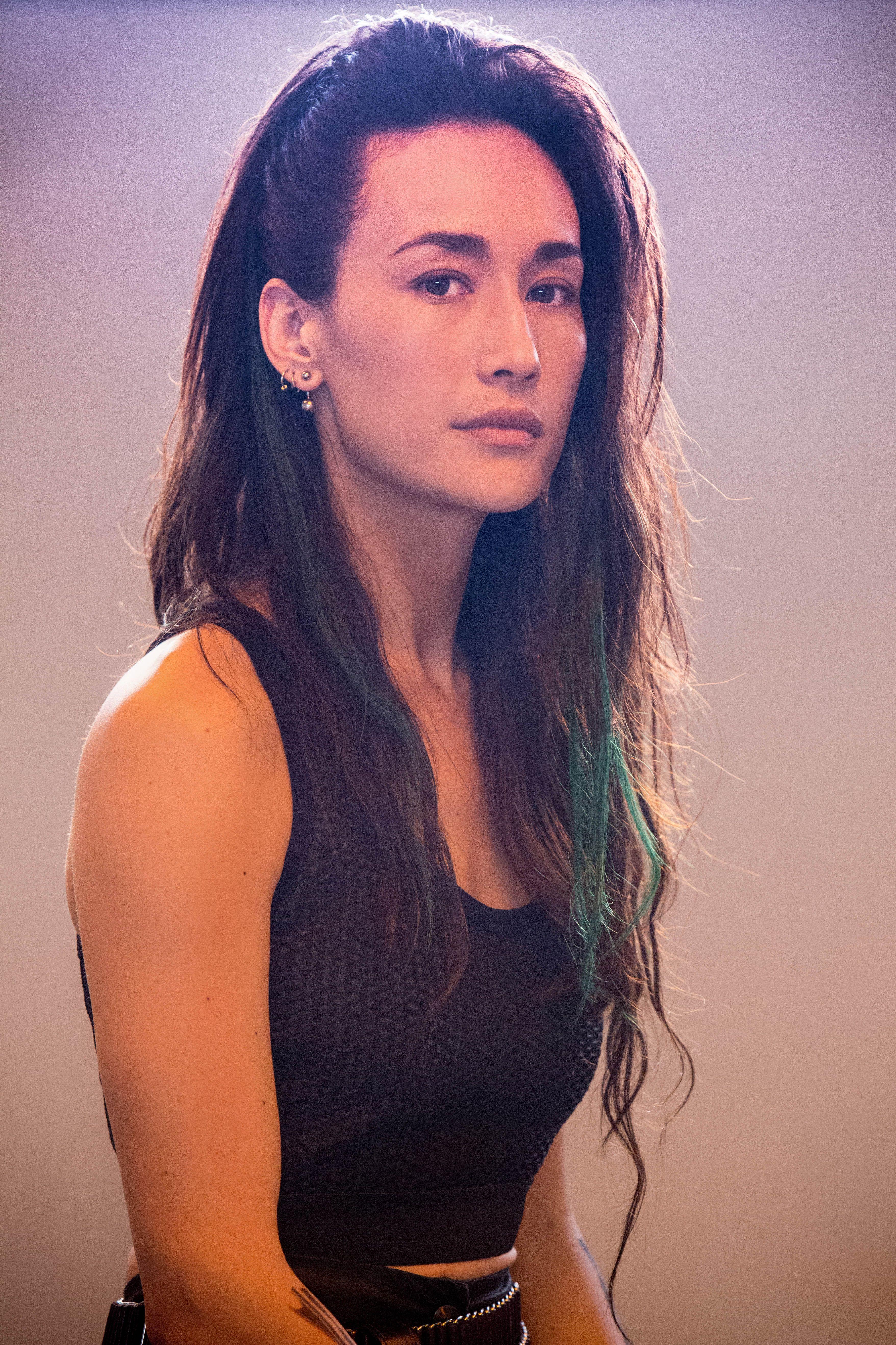 Maggie Q is quite stunning Divergent Pinterest