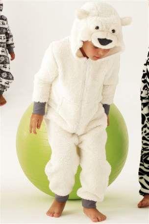 Polar bear onesie  a92fc4bd75fd