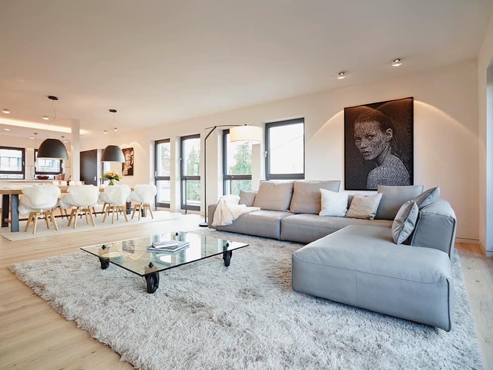 Penthouse: Wohnzimmer Von Honeyandspice Innenarchitektur